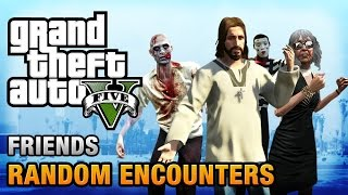 GTA 5 - All Special Characters / Friends [Humans of Los Santos Achievement / Trophy]