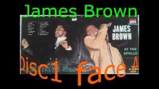 James Brown And The Famous Flames Live at the Apollo vol2 disc1 face A&B