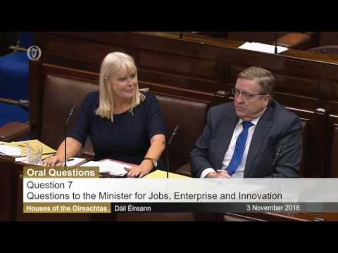 Mary Mitchell-O'Connor incapable of answering Alan Kelly Qs on Brexit