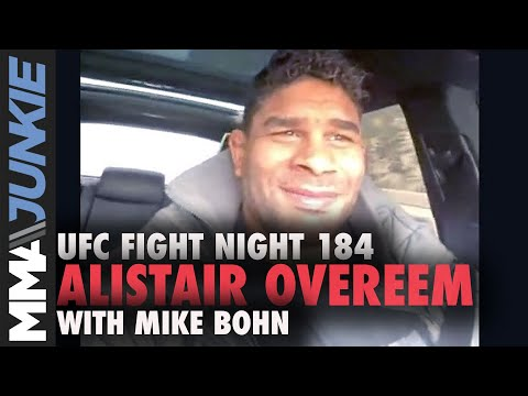 Alistair Overeem aims to win UFC belt, retire 'immediately' | UFC Fight Night 184 interview