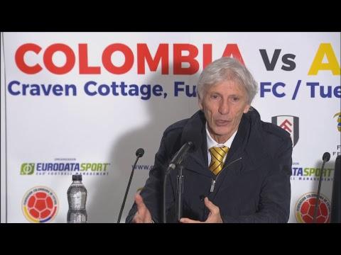 En vivo, rueda de prensa José Pékerman post partido Colombia vs. Australia | Gol Caracol