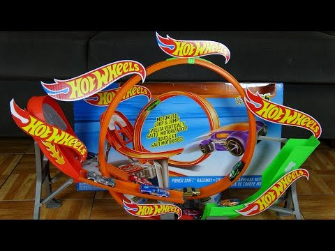Thumbnail: Tournament Hot Wheels Motorized Loop And Jump Car Race