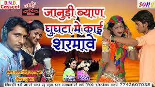 Rajsthani Dj Song 2017 ! जानूडी ब्यान घुघटा में काई शरमावे ! New Marwari Dj Song