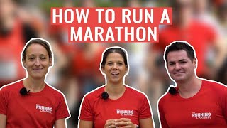 HOW TO Run A Marathon | Marathon Training Tips