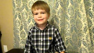 A Pirate s Life for Me sung by Jasper Take 2 Oct 24 2010 Age 3