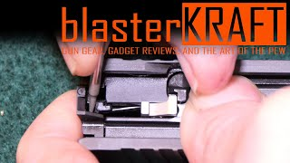 Updated 2019 Sig P365 Slide Disassembly HowTo - New Striker Sleeve - P365