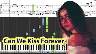 Baixar [Piano Tutorial] Kina - Can We Kiss Forever ft. Adriana Proenza