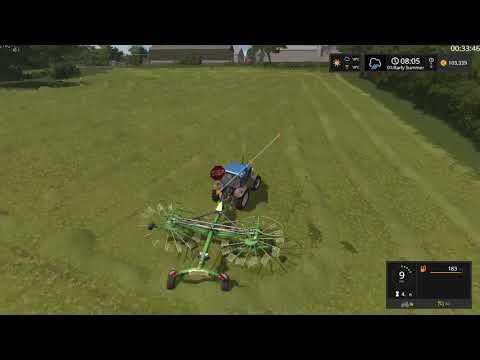 Farming Simulator 17  Timelapse #10 | Meadow Grove with Seasons.