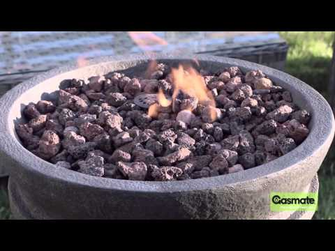 Gasmate Wicker Round Fire Bowl