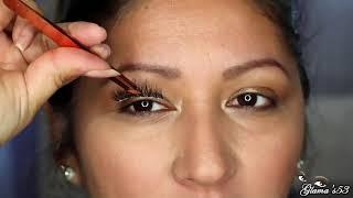 How to Apply False EyeLashes For Beginners | Do