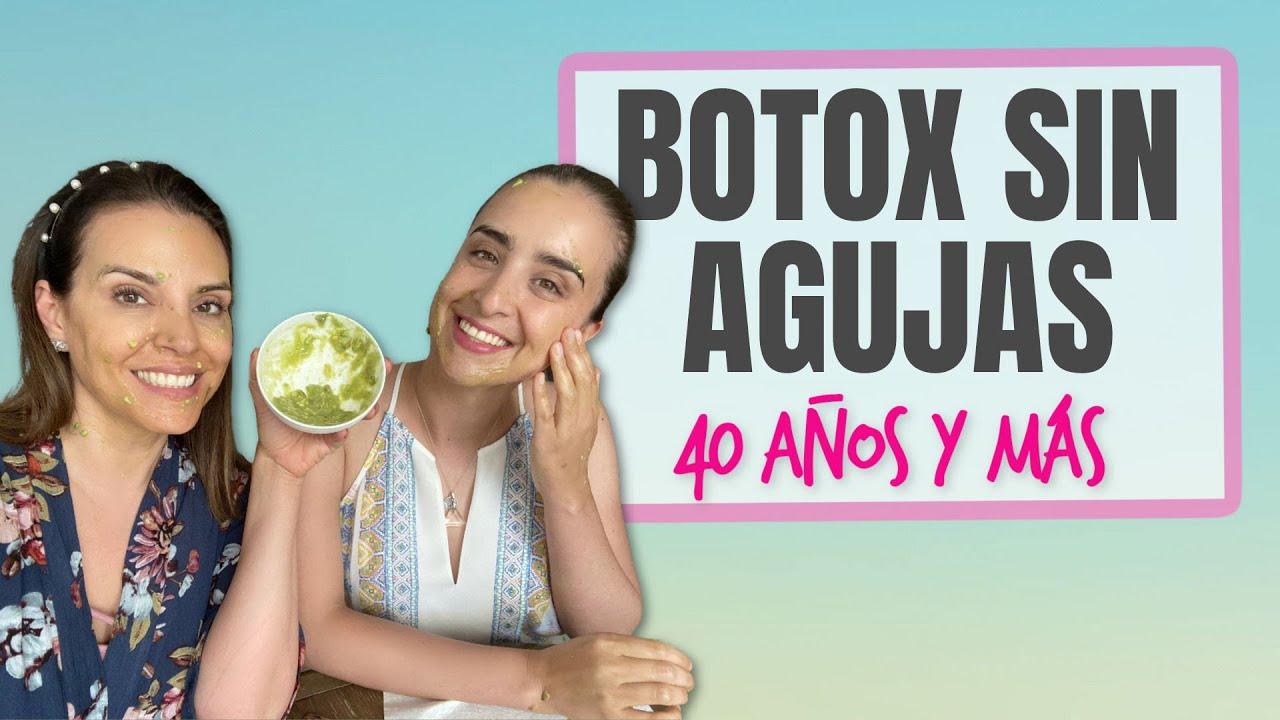 Mascarillas Para la Cara 40 Años y Más | EFECTO BOTOX