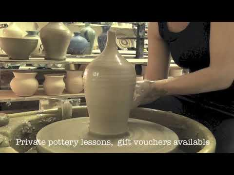 Elements Studio pottery demonstration video