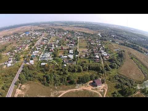 Коттеджный поселок в д. Ельня, Ногинский район. Аэрофотосъемка