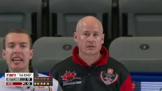 2018 Home Hardware Canada Cup of Curling - Koe vs. Bottcher (Draw 7)