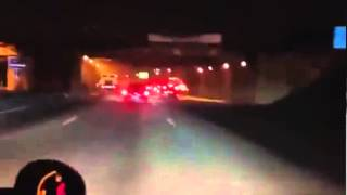 ACIDENTE FEIO EM RACHA NA MARGINAL PINHEIROS 28 06 2013 STREET RACING RACE CRASH