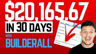 How I made $20K in 30 DAYS with Builderall Business! (Affiliate Marketing)