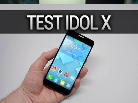 Test de l'Alcatel One Touch Idol X, par Test-Mobile.fr