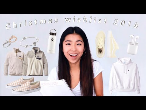 Christmas Wish List 2020.Christmas Wishlist 2018