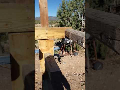 Homemade Wing Chun wooden dummy Part 2