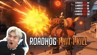 Hướng dẫn nâng cao Roadhog : nhất kích tất sát | Roadhog chain hook combo : 1 hit 1 kill | Duy.B
