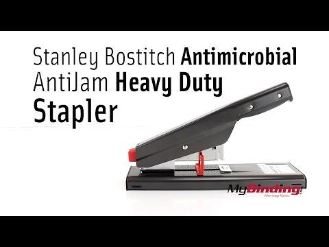 Stanley Bostitch Antimicrobial AntiJam Heavy Duty Stapler