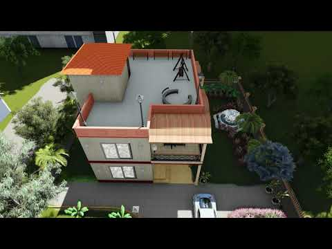 villa Exterior walkthrough_by Lumion