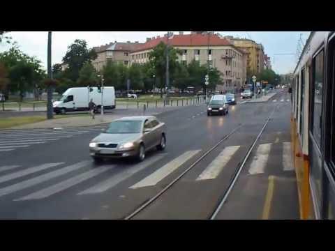 Tram Budapest: Batthyány tér - Kelenföld vasútállomás