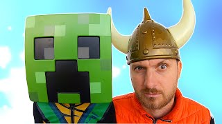 Creeper and Viking ride on ship | Who lost his armor Kids story