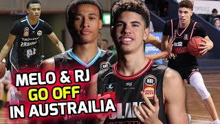 Lamelo Ball & RJ Hampton SHOW OUT In Front Of 27 NBA Scouts!! These Guys GOTTA BE Drafted! 💯