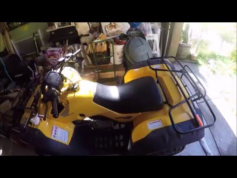 Battery Replacement On 06 Honda TRX 350 FE