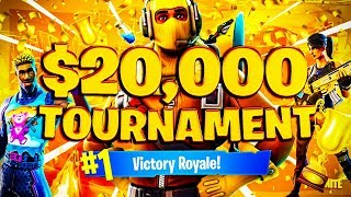 $20,000 Friday Fortnite Tourney VS MYTH! WORST SETUP EVER! (Fortnite Battle Royale)