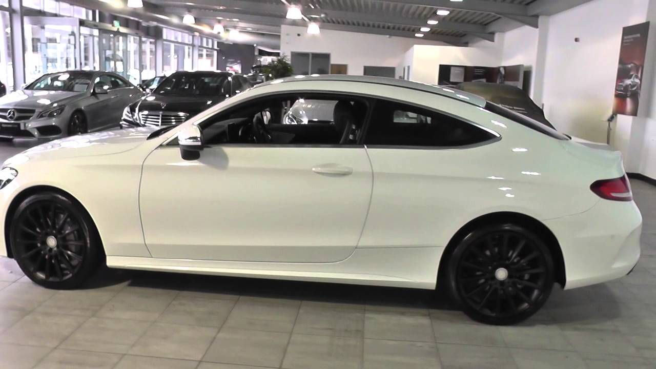 mercedes benz c class coupe 2015 c 250 d amg line coupe u45428 youtube. Black Bedroom Furniture Sets. Home Design Ideas