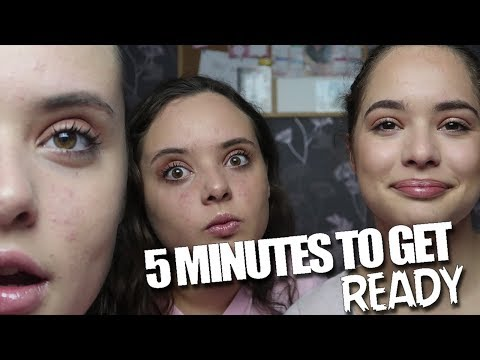 5 minutes to GET READY!