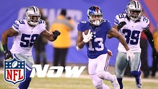 Odell Beckham Jr. & The Giants Super Bowl Bound? | NFL Now | Wrangler Comfort Zone