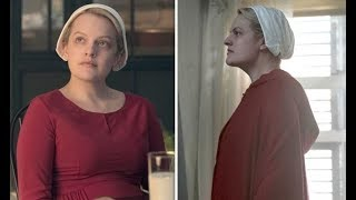 The Handmaid's Tale  2, episode 11 Who was June talking to at the end