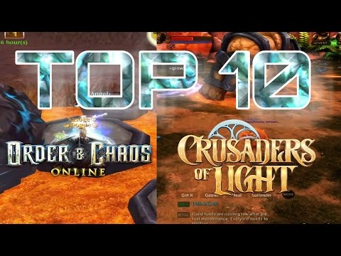 Order And Chaos & Crusaders Of Light COMMENTARY COMPARISON!!! (BEST MOBILE MMORPG)