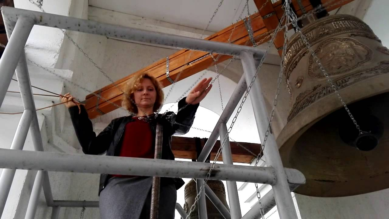 Звонарь храма Иоанна Предтечи Наталья Минаева