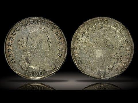 1800 Draped Bust Silver Dollar PCGS VF35
