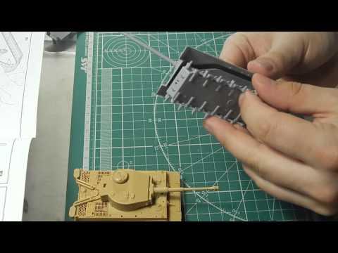 видео: Тигр и ИС-2 Звезда 1:72 часть 2