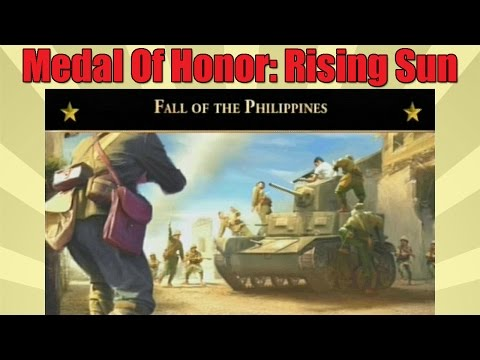 Fall Of The Philippines, Medal Of Honor: Rising Sun, Mission 2, PS2 Gameplay