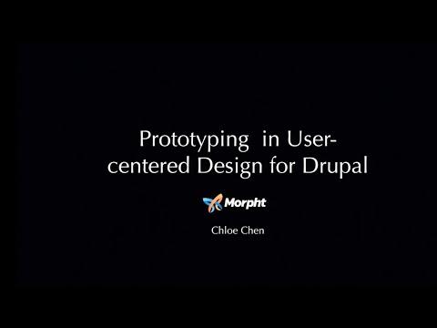 Prototyping in User Centered Design in Drupal