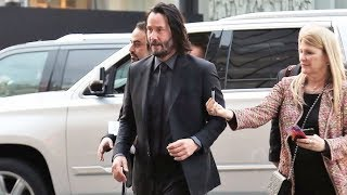 Keanu Reeves Is The Man Of The Hour At The John Wick 3 Premiere