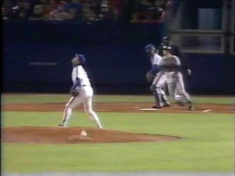 1988 MLB Atlanta vs New York NL May 2