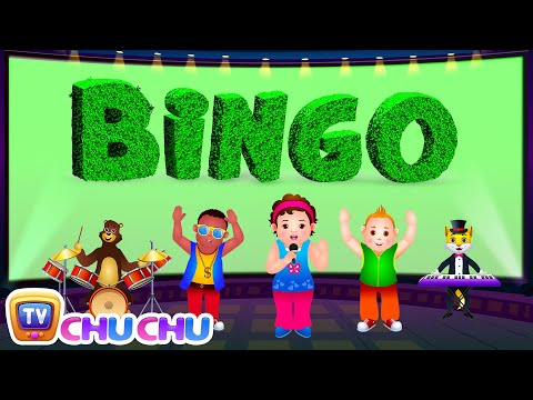 Bingo Dog Song - ChuChu Tv Rhymes