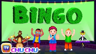 Bingo Dog Song - Nursery Rhymes Karaoke Songs For Children | ChuChu TV Rock 'n' Roll