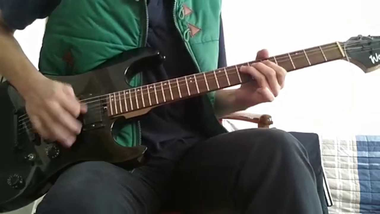pentagram lions in a cage guitar cover youtube