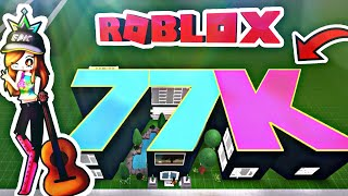 ROBLOX | EPIC 77-100K Celebration Speedbuild | Part 1