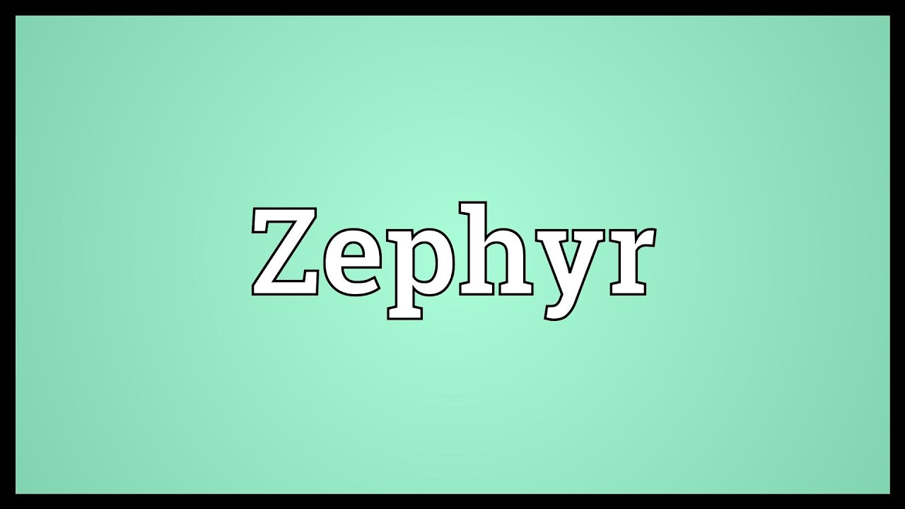 zephyr meaning