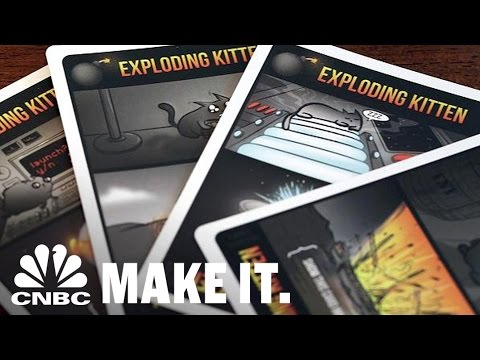 'Exploding Kittens' Card Game Blows Up Into A Fortune | Strange Success | CNBC Make It.