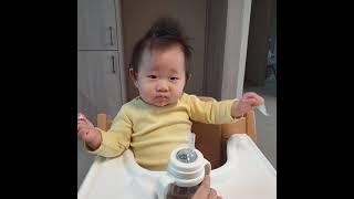 짜증 이유식 21.01.11 월 | 10개월아기 | 3…